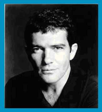 The completely fab Antonio Banderas