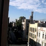 View from a $20/couple hotel in Mexico City.  It ain