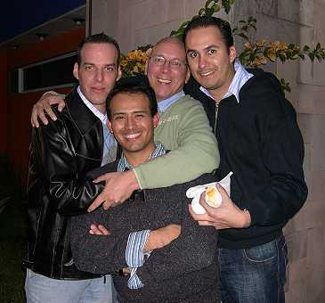 As well as our great friends Mario and Armando.
