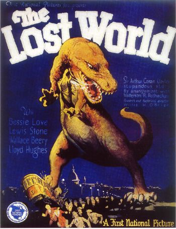 Lost World (1925) window card.  Now you know what to get me for Christmas.