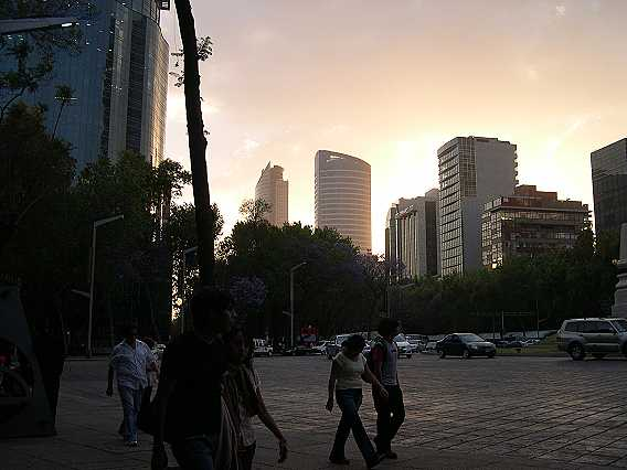 Dusk in Mexico City. What a wonderful place. It is nothing like I imagined it, years ago. I see that it has been voted one of the top travel destinations this year. Omar and I hope you've enjoyed our photo essay of Mexico City (and that you stay tuned for more adventures at 365Mexico). This is really only a taste of what the city has to offer--come and discover it with us!