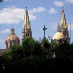 The cathedral, Guadalajara.