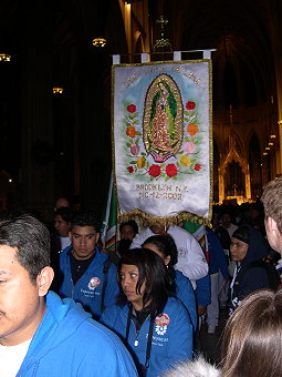 Another view of the banner